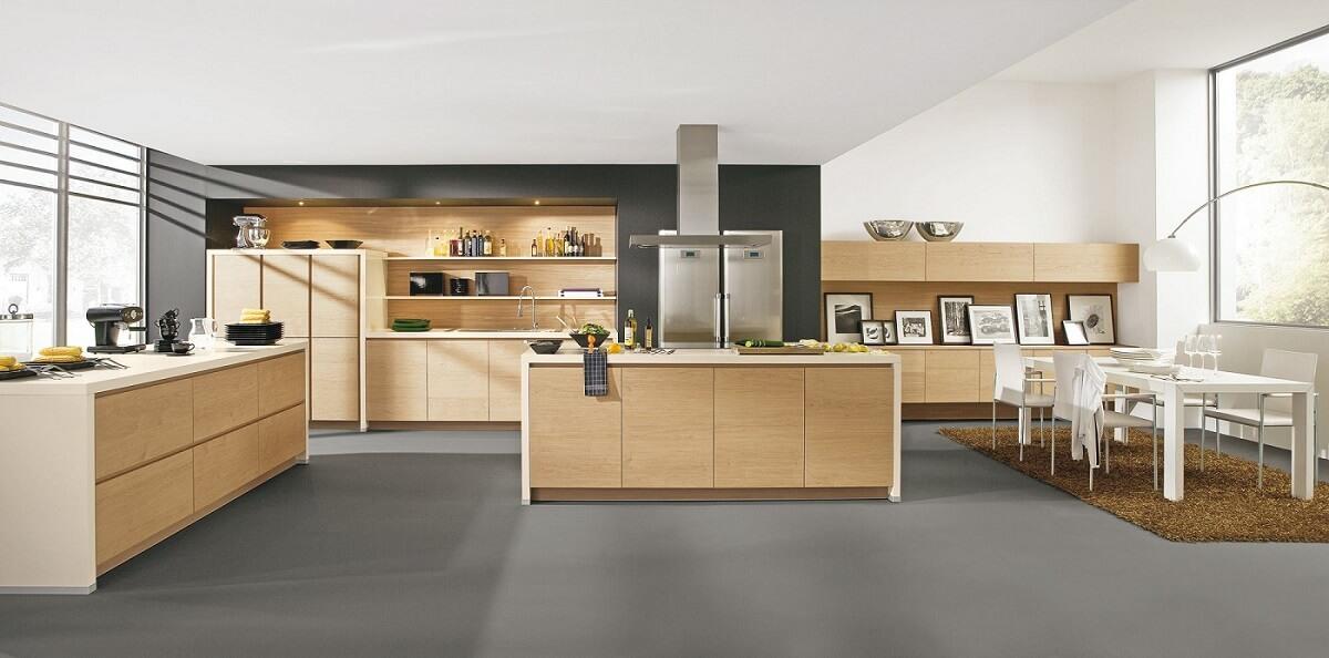 Dřevěná kuchyně z masivu