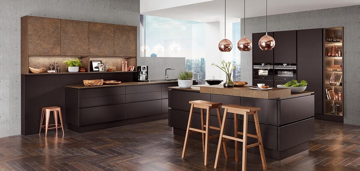 Moderní designová kuchyně na míru